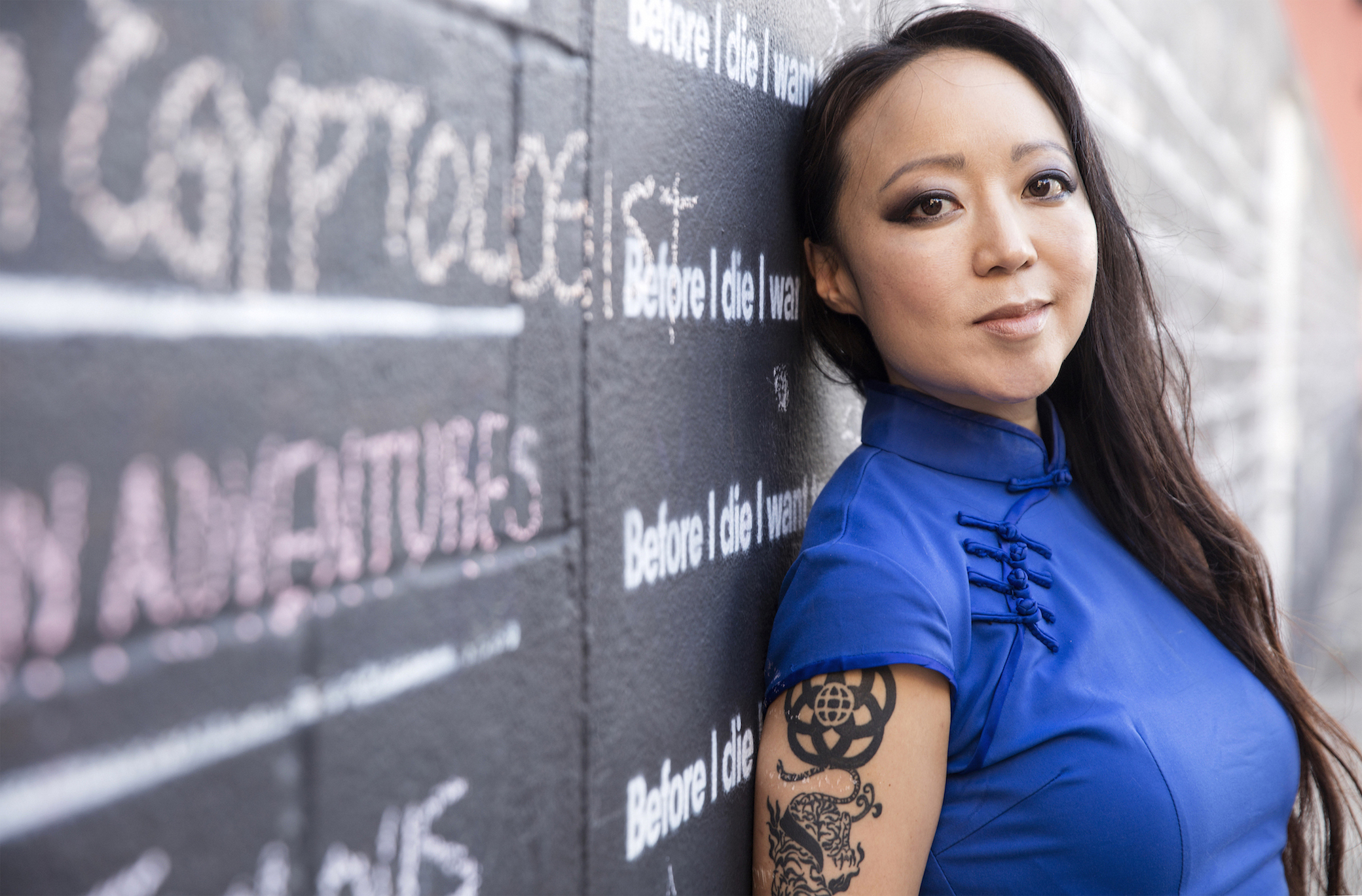 SHIFT: The 2019 MFA Interaction Design Thesis Festival Keynote: Candy Chang World-renowned artist and urban designer