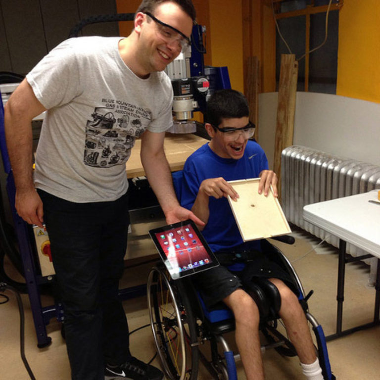DIYAbility Empowers People With and Without Disabilities to Make Their World Student Blog