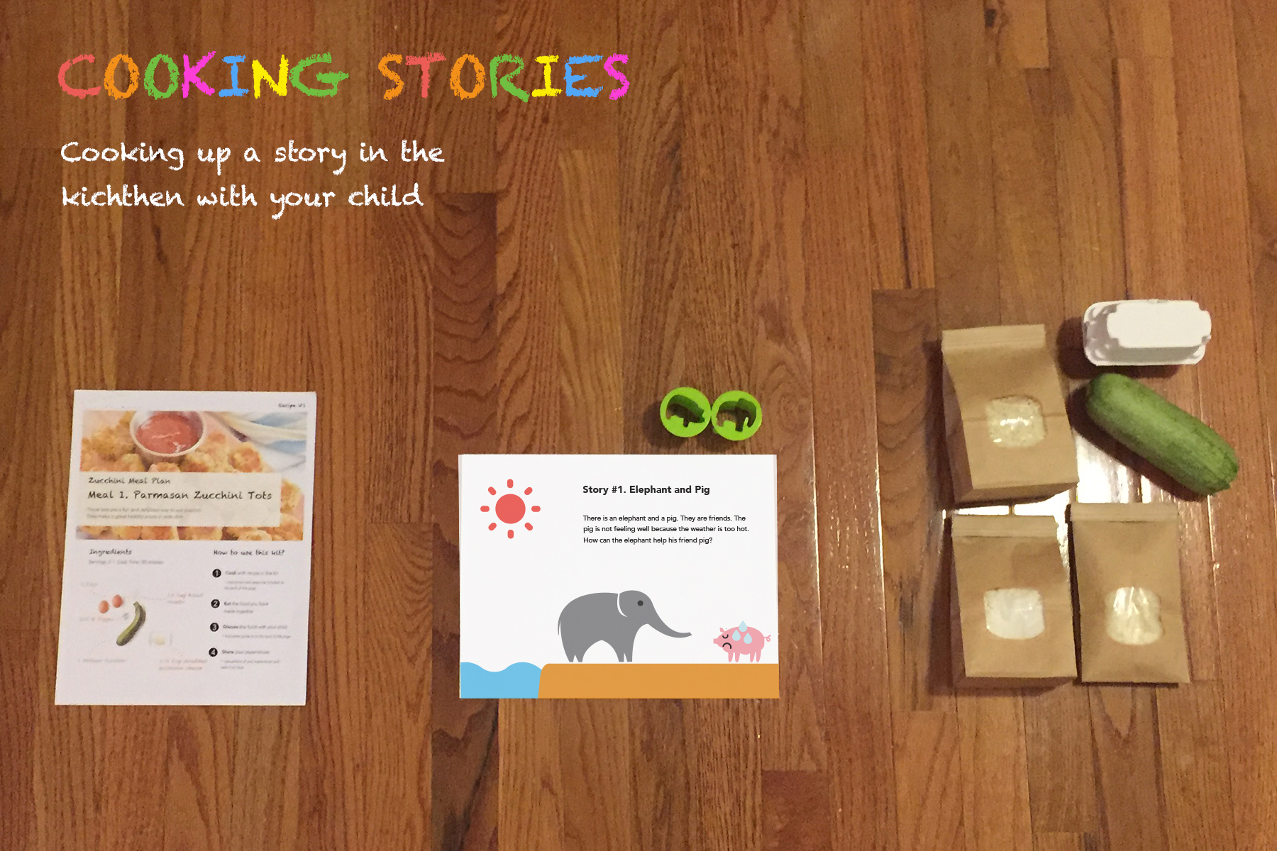 Cooking Stories A delivery service for toddlers' food ingredients