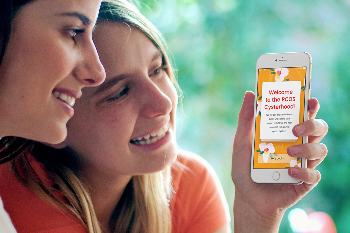 Cysters Positive and uplifting online support group experience for women with PCOS