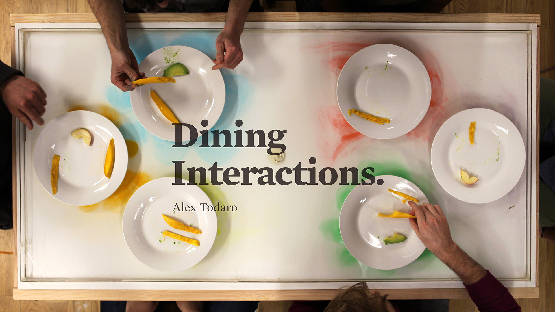 Dining Interactions Unique Dining Experiences To Influence And Change  Social Behaviors