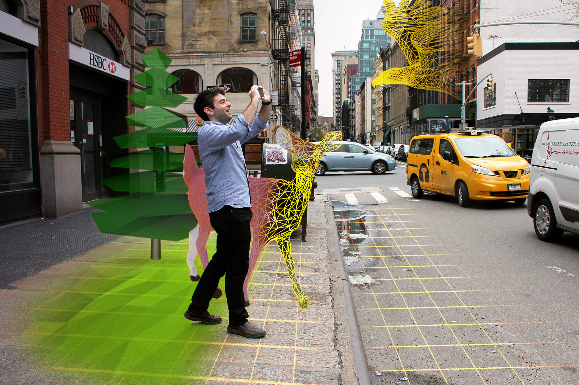 StreetSmart.AR A safer, more social augmented reality for public space