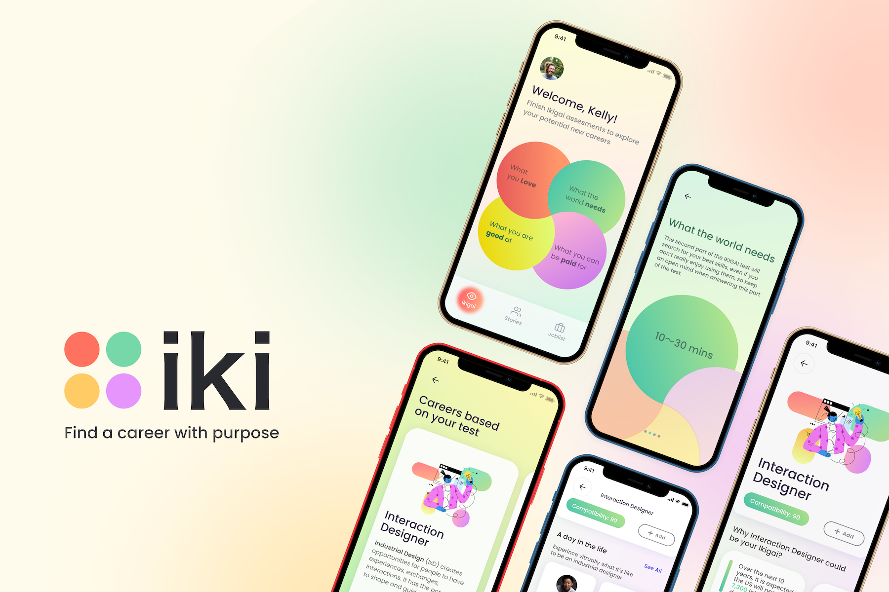 iki iki is a platform that helps people find fulfillment in their careers.